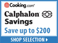 Calphalon Savings!