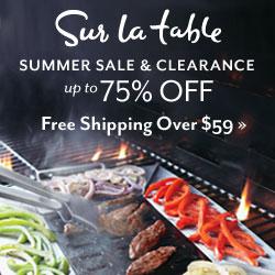 Sur La Table Summer Clearance Event