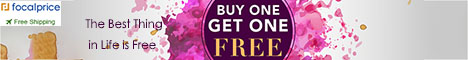 Buy One Get One Free,EXP:July.15,freeshipping@focalprice.com