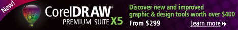 CorelDRAW Premium Graphics Suite X5