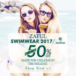 Zaful 2017 New Swimwear on Sale