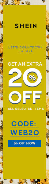 Countdown to Fall! Save an EXTRA 20% off with Code WEB20. Limited Time Offer at SheIn.com