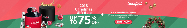 2018 Christmas Sale - UP TO 75% OFF! Plus Extra Store-Wide Coupons! Sale ends 12/26