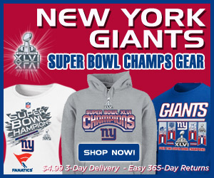 Shop New York Giants 2011 NFC Champion Gear!