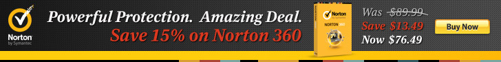 15% off Norton360 728x90 - Direct to Cart
