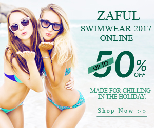 Zaful 2017 New Swimwear on Sale