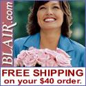 Blair.com: $1.99 Flat Rate Shipping