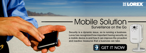 Mobile Solution - Surveillance on the Go