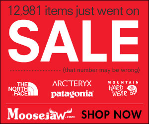 Moosejaw Winter Clearance Sale