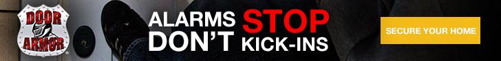 728x90 Alarms Don't Stop Kick-Ins