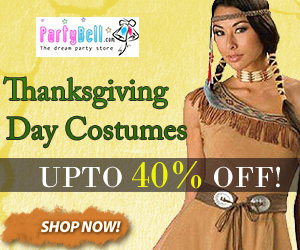 Buy Thanksgiving day costumes at lowest prices. Shop now from PartyBell.com