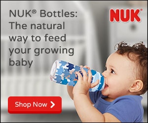 NUK� Bottles, the natural way to feed your growing baby.  Shop now