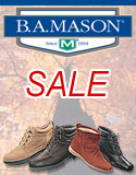 Footwear Sale at BAMason.com