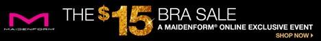 $15 Bra Sale - A Maidenform.com Exclusive Event