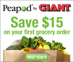 $15 off your first grocery delivery order