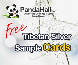 Free tibetan silver sample cards, 3pcs/set. Get it free !