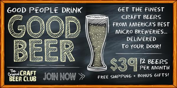 Good People Drink Good Beer Banner