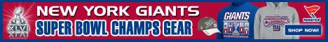 New York Giants Apparel