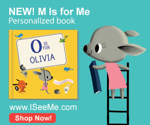 Save 15% on Personalized Alphabet Book M is for Me