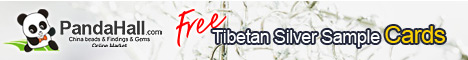 Free tibetan silver sample cards, 3pcs/set. Get it free !