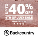 Backcountry.com December Sale