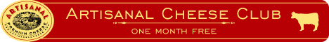 Artisanal Cheese Club - one month free