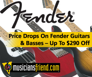 Fender Price Drops at MusiciansFriend.com