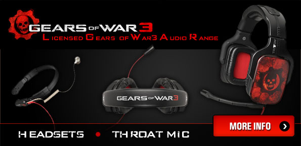 Gears of War 3 Licensed headsets by Tritton
