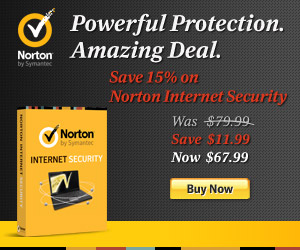 15% off Norton Internet Security 300x250 - Direct to Cart