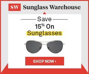15% Off Sunglasses At Sunglass Warehouse
