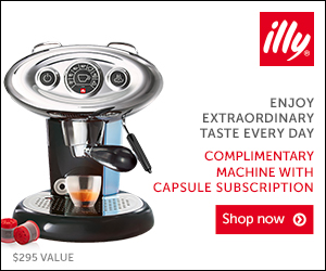 illy A Casa - Free Machine with Subscription