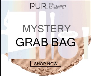Get the $20 Mystery Grab Bag !- (featuring 5 full-sized products totaling over $100) at Purcosmetics.com-
