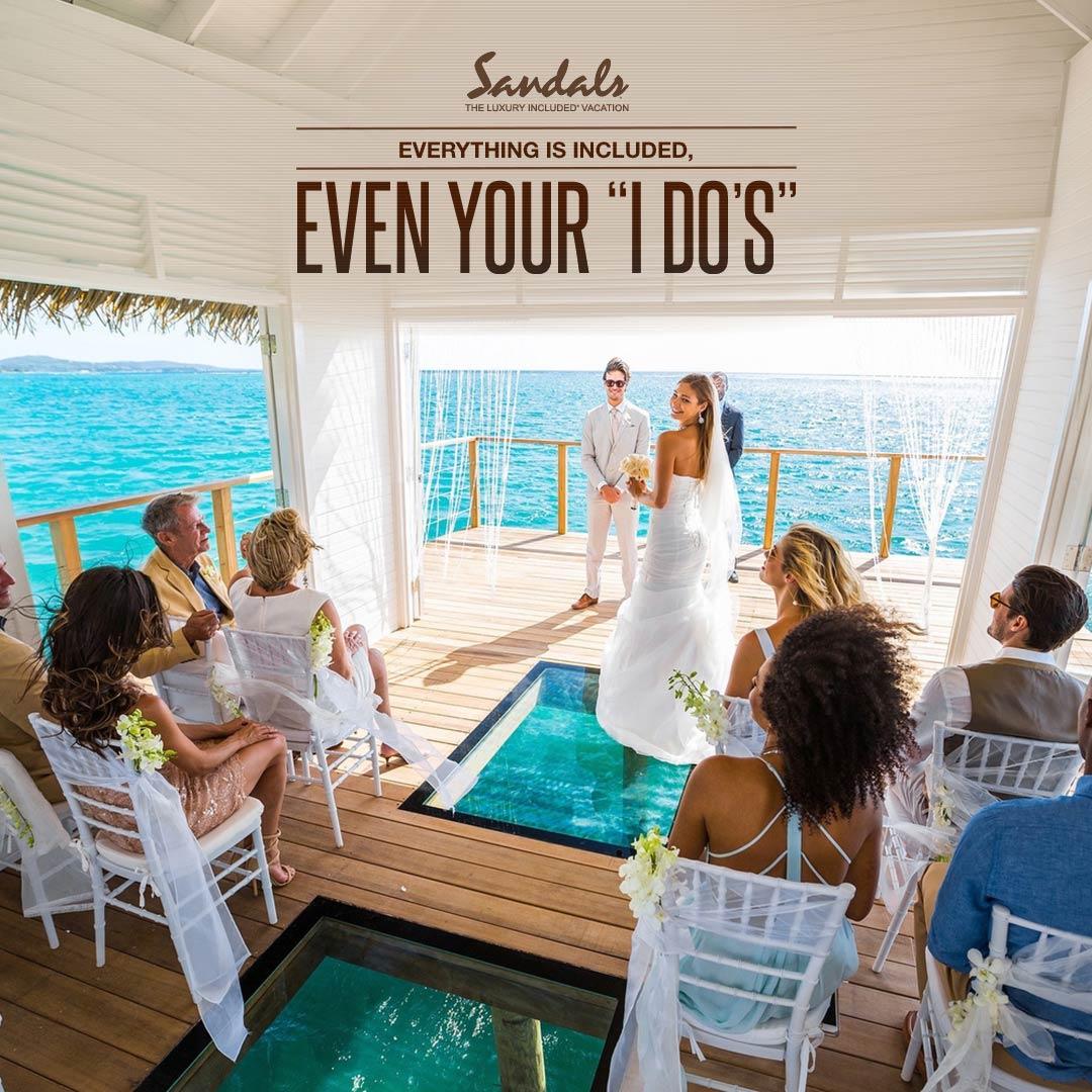 FREE Wedding at Sandals Resorts