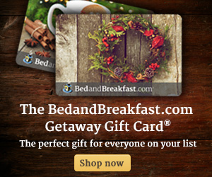 BedandBreakfast.com - Give the Gift of a Getaway