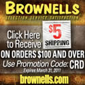 $5 Shipping on Orders Over $100 at Brownells.com
