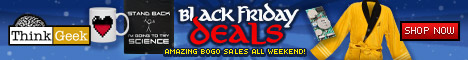 ThinkGeek's Black Friday Deals