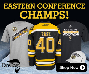 Shop for Bruins 2013 Eastern Conference Champs Merchandise at FansEdge