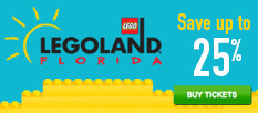 LEGOLAND Florida - Special Offer: Save 25% on Tickets!