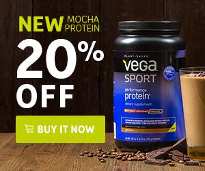 Vega Sport Performance Protein Mocha Flavor - 20% off
