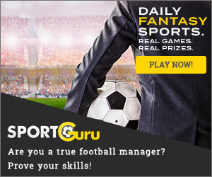 Are you a true football manager? Prove your skills! REAL GAMES, REAL PRIZES, DAILY FANTASY SPORTS
