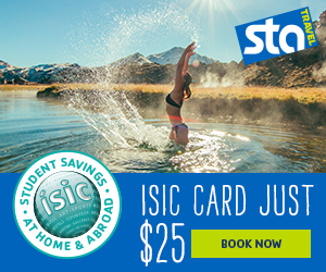 Student travel discounts!