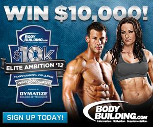 BodyBuilding.com Fitness Goals