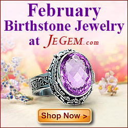 Check out February Birthstone Jewelry at JeGem.com