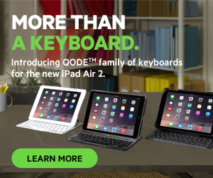 Introducing Belkin QODE family of keyboards for iPad Air 2