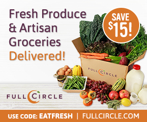 Get $15 Off Your First Box of Produce