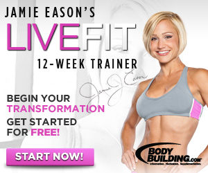 Live Fit Jamie Eason 12 Week Trainer 300x250
