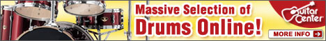Drum & Percussion category at GuitarCenter.com