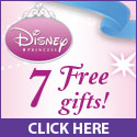 Get 7 FREE gifts from Disney Princess!