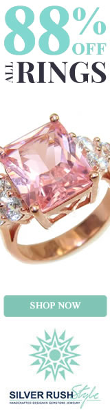 Ruby, Emerald and Sapphire Jewelry 20% OFF at www.SilverRushStyle.com