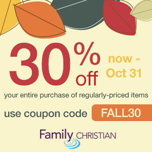 30% off entire purchase of regularly-priced items with coupon code FALL30